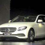 Mercedes drives in custom-made E-Class for India