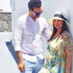 Esha Deol enjoys her babymoon with husband Bharat Takhtani in Greece