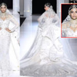 Sonam Kapoor enthralls in a bejeweled Ralph & Russo at the Paris Fashion Week