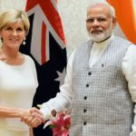 Ms. Julie Bishop MP, Foreign Minister of Australia calls on PM