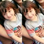 CUTE! AbRam has such a cute smile, posing with sister Suhana's friends! But where is she?
