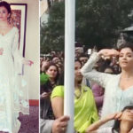 Fabulous! Aishwarya Rai Bachchan hoists the national flag with daughter Aaradhya in Melbourne