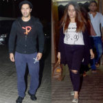 Varun Dhawan and girlfriend Natasha Dalal spotted at Judwaa 2 trailer's special screening – view HQ pics