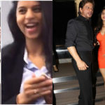 WATCH! Shah Rukh Khan's daughter Suhana in a playful mood poses for friends at her London school!