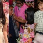 Aishwarya Rai Bachchan is ecstatic as Aaradhya cuts cake! SRK's son AbRam goes for a cotton candy