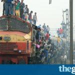 India train crash: at least 23 killed in Andhra Pradesh derailment
