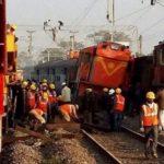 NIA visits train derailment site in Andhra's Vizianagaram district, toll stands at 41