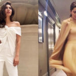 Pak actress Mahira Khan keeps it chic and classy for Raees promotions, a far cry from her traditional look in the film