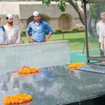 Mahatma Gandhis samadhi gets a new look, to be unveiled by Venkaiah Naidu