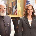 US Vice President Kamala Harris, PM Modi talk up Indo-US tie ..
