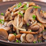 Three easy-to-make mushroom variations