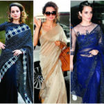 5 times Kangana Ranaut made us fall in love with the saree | Latest News & Updates at Daily News & Analysis