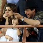 IPL 2017: Shah Rukh Khan And Son AbRam Cheer For KKR, Similar Tattoos Steal The Limelight