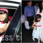 Aishwarya Rai Bachchan is in a hurry but daughter Aaradhya loves shutterbugs
