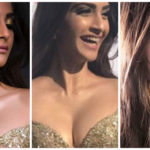 CANNES 2017! Sonam Kapoor glitters in a golden Elie Saab couture number!