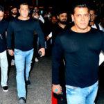 [PHOTOS] Salman Khan returns from Dubai just in time for Tubelight's trailer launch