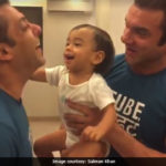 Salman Khan, 51, Vs Ahil, 1, In A Boxing Match. Look Who Won