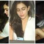Sara Ali Khan SIZZLES in white at Karan Johar's 45th birthday bash! Kareena, Ranveer, Salman skipped!