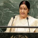 Sushma Swaraj slams Donald Trump's charge, says India did not sign Paris Climate Agreement for benefits