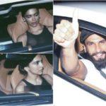 Ranveer Singh rings in birthday with lady love Deepika Padukone, takes her zooming on his new hot wheels. See photos