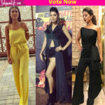 Khatron Ke Khiladi 8: Hina Khan,Nia Sharma or Lopamudra Raut – tell us whose promotional style was on fleek!