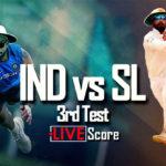 Live Cricket Score India vs Sri Lanka 3rd Test Day 3: India search wickets as Angelo Mathews, Dinesh Chandimal steady Sri Lanka