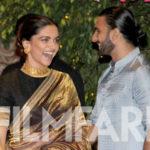 Deepika Padukone and Ranveer Singh look adorable at Ambani's Ganesh Chaturthi celebration