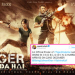 'Mind blowing', 'Dhamakedaar' – Twitterati can't stop gushing about Salman Khan and Katrina Kaif's new Tiger Zinda Hai poster