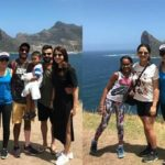 [Photos] Virat Kohli and Anushka Sharma are doing what tourists do in Capetown – pose and click!